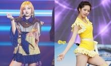 Idol bị stylist 'hãm hại': Lisa hay Hye Ri 'dị' hơn?