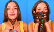 8 cách cột tóc đẹp không sợ nắng nóng