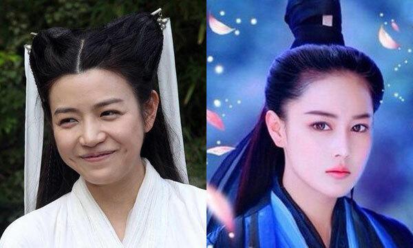 Trước đó, trong phiên bản Thần điêu đại hiệp 2014, ngoại hình của Tiểu Long Nữ do Trần Nghiên Hy thủ vai đã bị chê không xinh đẹp bằng Lý Mạc Sầu của Trần Hinh Dư.