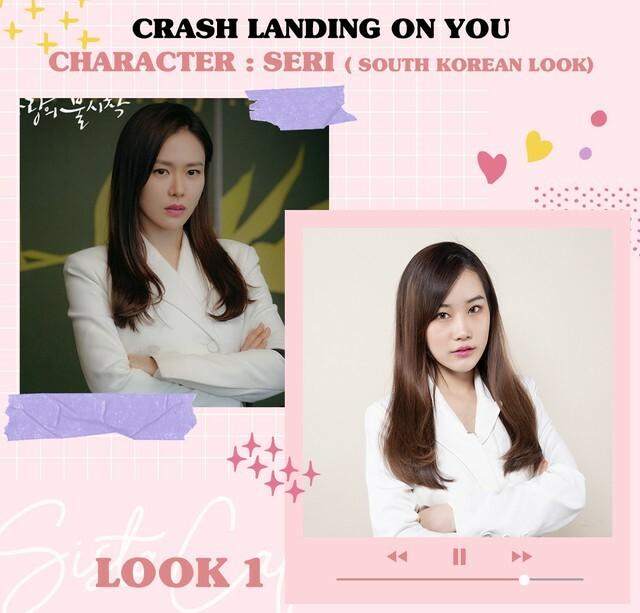 Trong Hạ cánh nơi anh, Son Ye Jin chuộng lối trang điểm nhẹ nhàng, tôn lên vẻ đẹp tự nhiên. Ở nhiều phân cảnh, nữ diễn viên thậm chí không dùng son môi đậm, chỉ tô một lớp son dưỡng màu hồng da.
