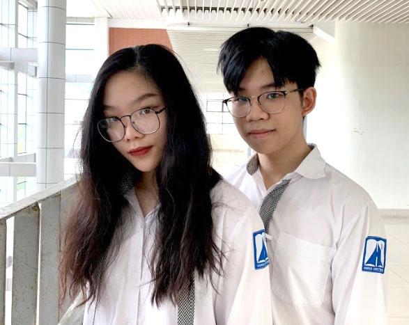 Cặp chị em Quỳnh Anh - Quanh Anh. Ảnh: Nhân vật cung cấp.