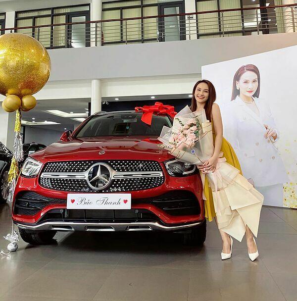 Chiếc xe ông xã tặng Bảo Thanh.