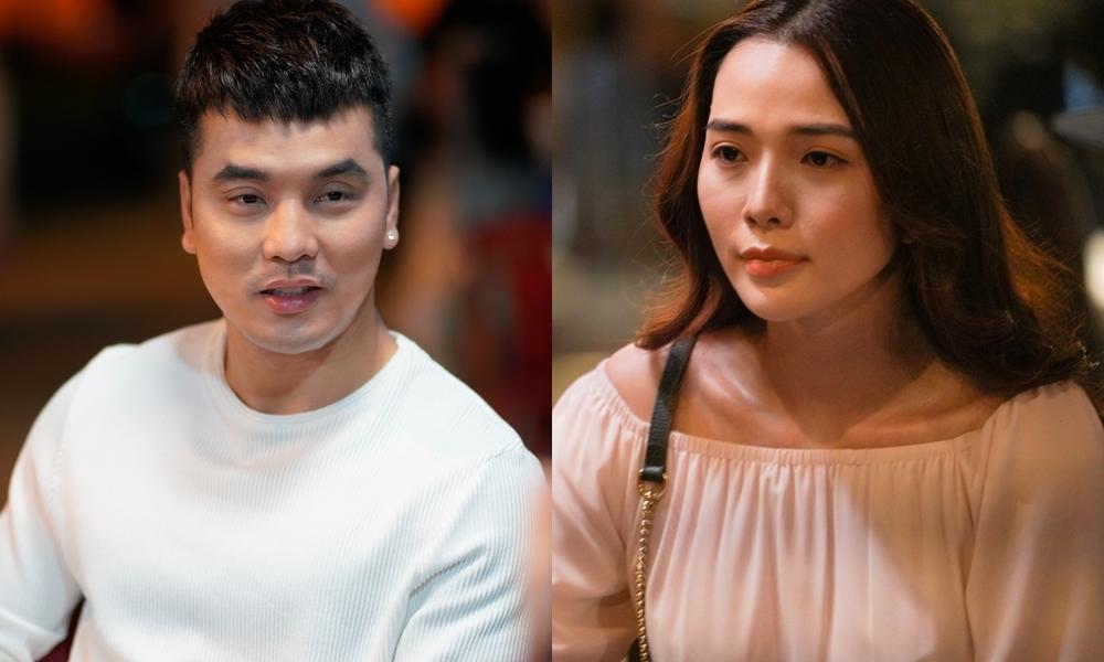 Kim Cương tham gia phim giang hồ cùng chồng.