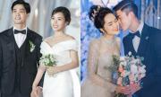 Váy cưới dàn WAGs Việt: Người đơn giản, kẻ tốn tiền tỷ