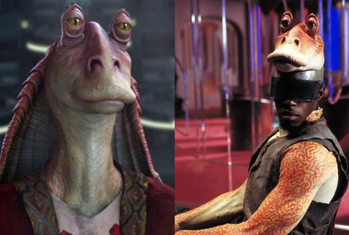 <p>Nhân vật Jar Jar Binks của <em>Star Wars</em> ngoài đời trong thế này đây.</p>