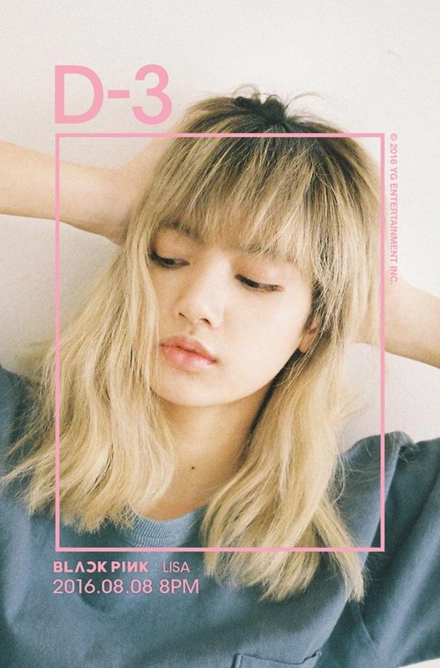 Teaser debut của Lisa được tung ra vào tháng 7/2016. Khi từ mới ra mắt, Lisa đã gây ấn tượng bởi mái tóc nhuộm vàng cực tây, thần thái cá tính chuẩn phong cách girlcrush.