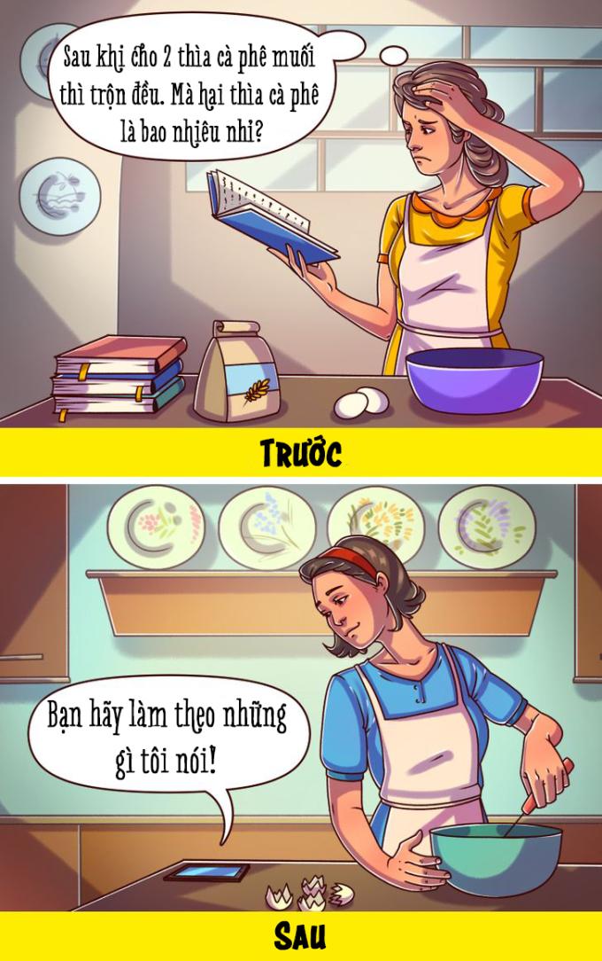 <p>Những video dạy nấu nướng nhanh chóng thay thế cho sách viết tay.</p>