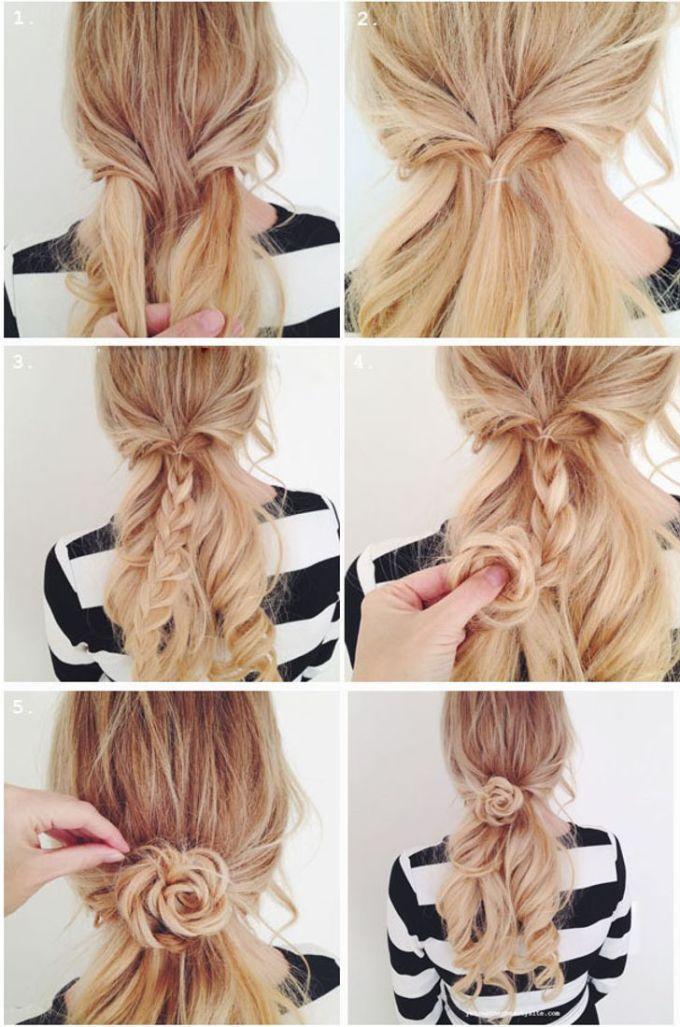 <p><strong>7: Làm tóc hoa hồng</strong></p>