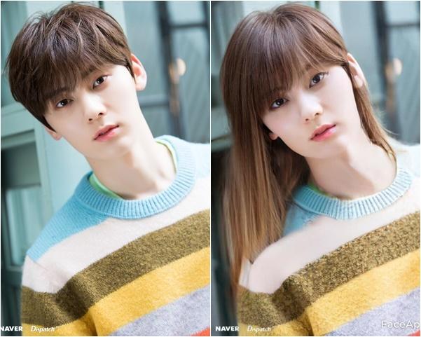 Hwang Min Hyun (Nuest) mang khí chất tình đầu, giống nữ chính trong các bộ phim thanh xuân khi chuyển mặt.
