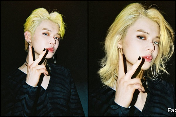 Yeon Jun (TXT) lại nét đẹp nổi loạn, ma mị như các cô gái Âu Mỹ.