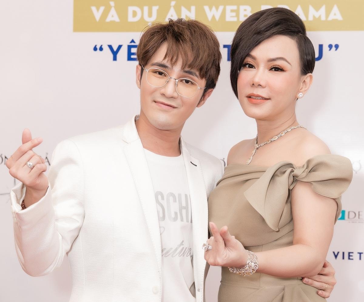 Việt Hương mời Huỳnh Lập tham gia web-drama mới.