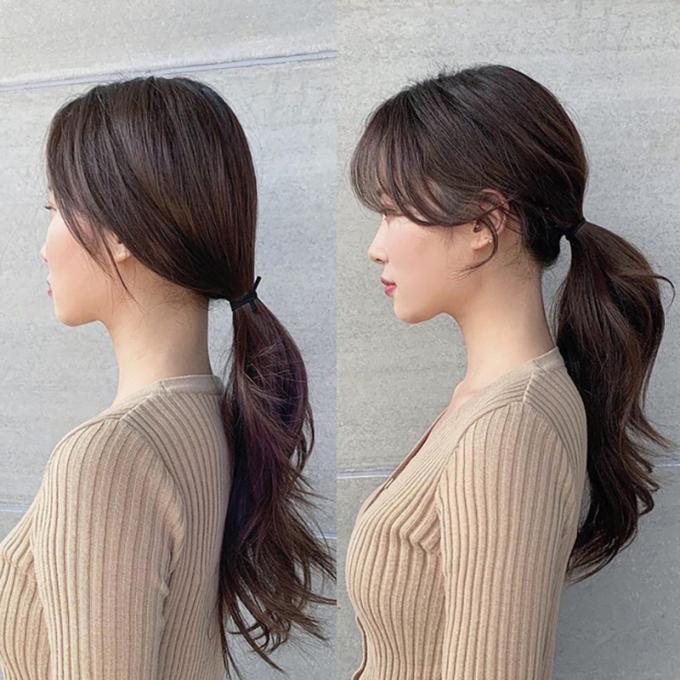 <p>Buộc tóc ngang tai thay vì buộc sát phần gáy sẽ khiến bạn trở nên già và thiếu sức sống. Nhớtạo một chút phồng nhẹ cho phần mái được cắt tỉa gọn gàng. Chỉ cần vài thao tác đơn giản, bạn sẽ sở hữu thần thái không phải dạng vừa.</p>