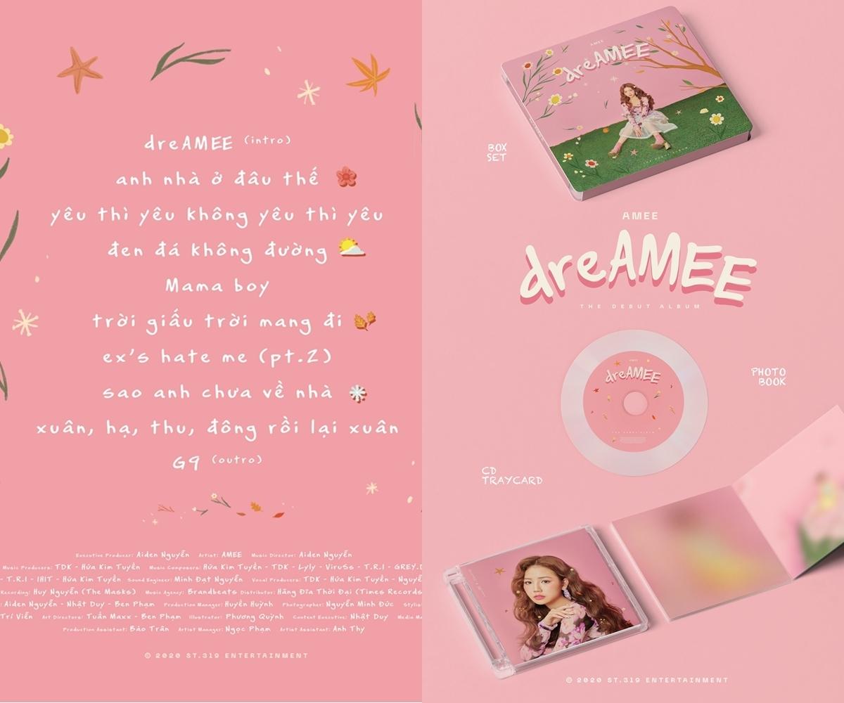 Hình ảnh Album đầu tay của Amee.
