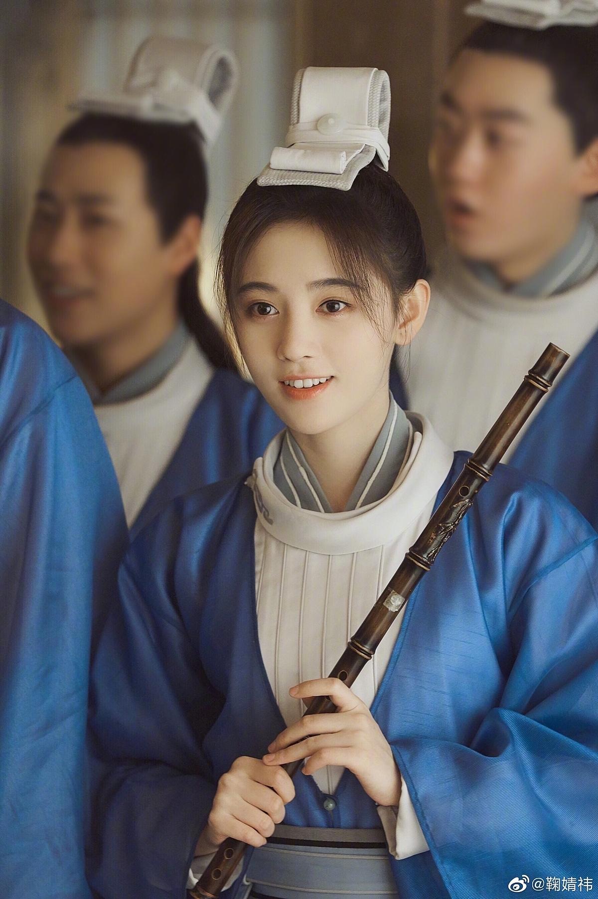 Tạo hình của Cúc Tịnh Y trong phim.