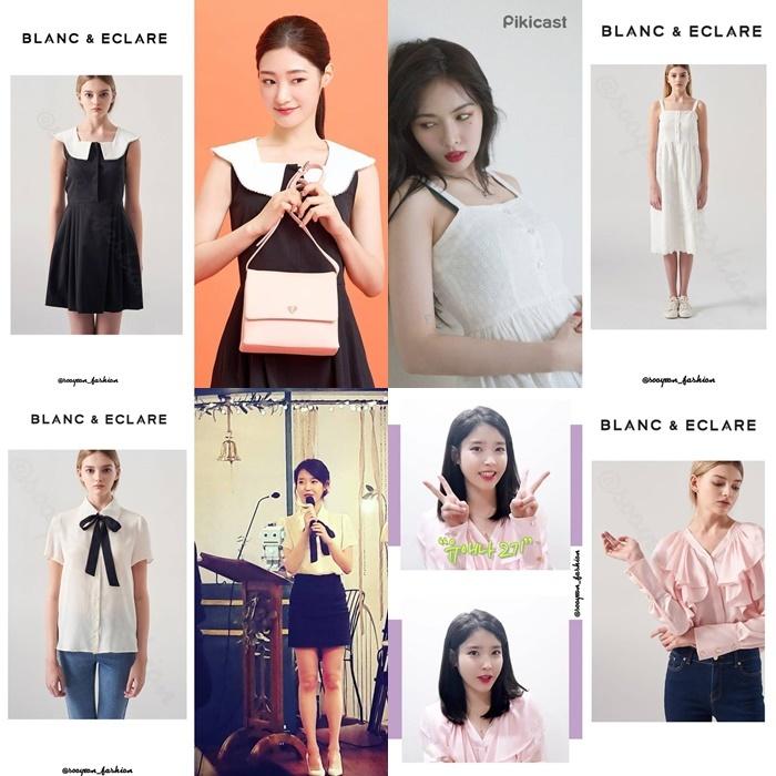 Thương hiệu thời trang của Jessica được nhiều sao Hàn yêu thích.