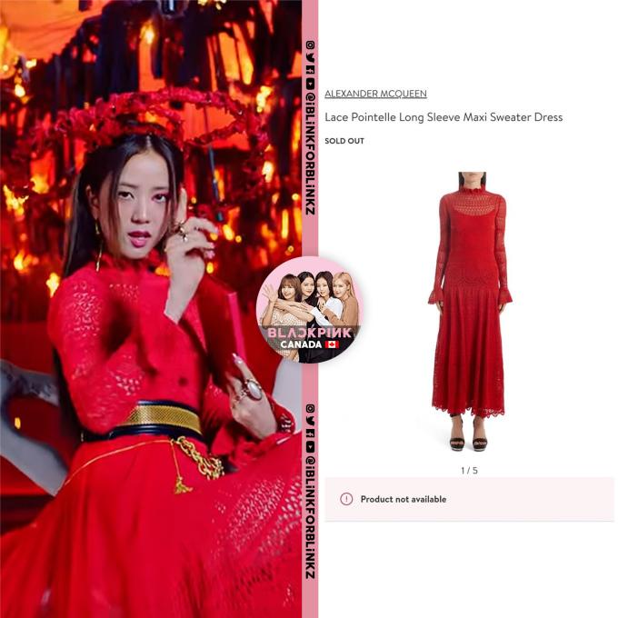 <p>Fan Black Pink đổ xô đi mua váy Alexander Mcqueen mà nữ idol đã mặc.</p>