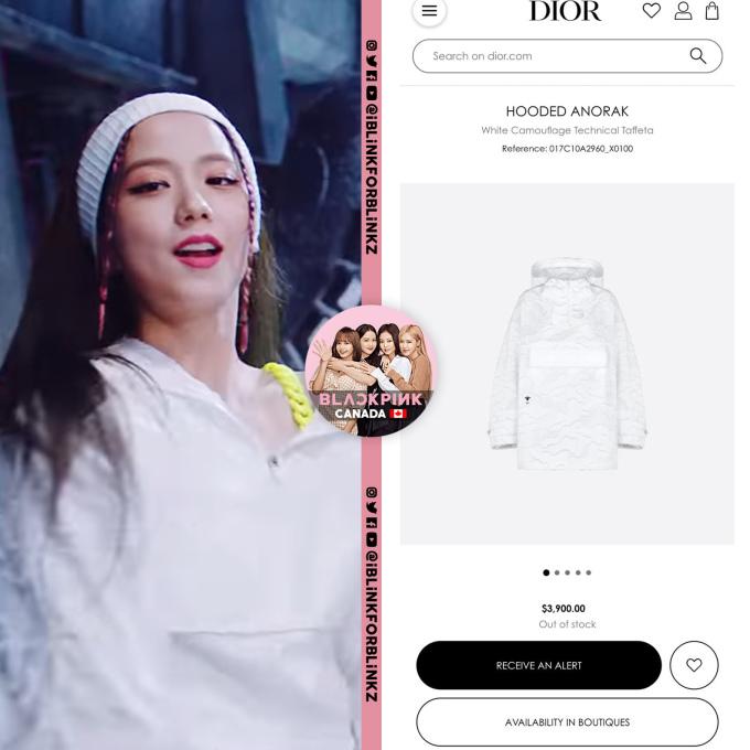 <p>Ji Soo được thương hiệu Dior ưu ái, mặc trang phục giá 3.900 USD để quay MV. Item đắt đỏ này cũng bán hết hàng chỉ trong một thời gian ngắn.</p>