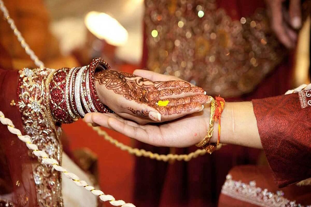 Một đám cưới truyền thống tại Ấn Độ. Ảnh: PTI.