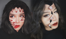 Nữ sinh trường báo lên trang tin nước ngoài nhờ tài makeup