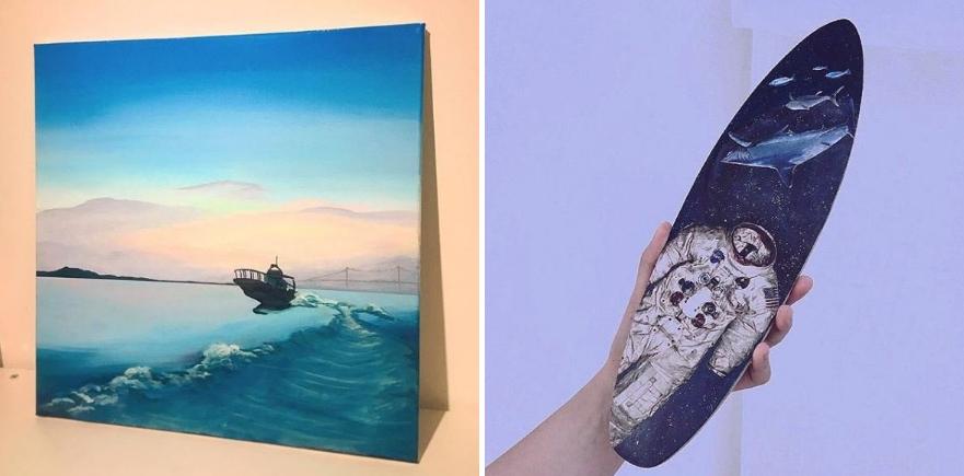 Một số tác phẩm của Kim Yoo Jung.