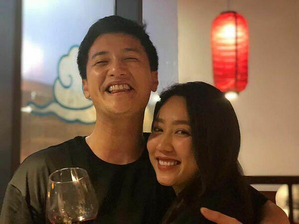 Huỳnh Anh bị đồn hẹn hò Hồng Loan.