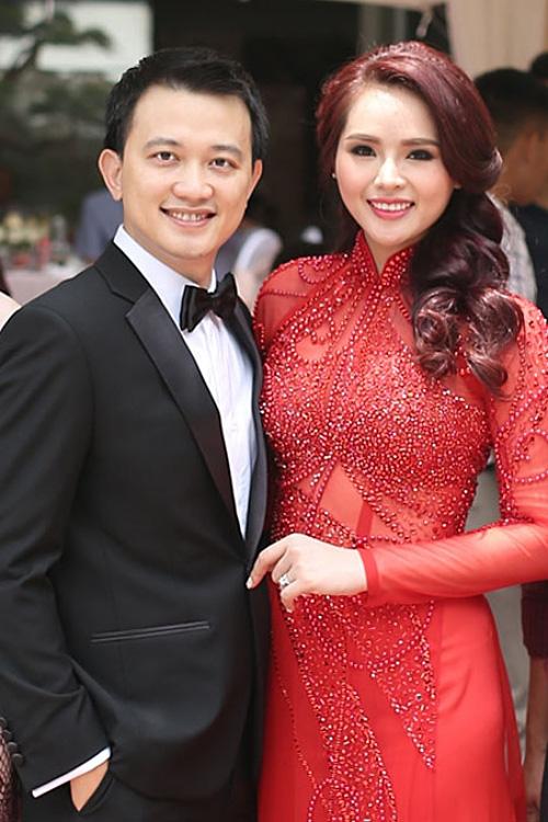 Lại Hương Thảo và chồng cũ - doanh nhân Nguyễn Anh Tuấn.