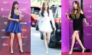 5 idol cao như người mẫu vẫn thích đi giày 'chót vót'