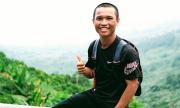 Túi rỗng đi bộ xuyên Việt, chàng trai Gia Lai quyên được 127 triệu đồng cho trẻ vùng cao