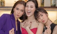 Phương Anh Đào - Ái Phương - Hoàng Yến Chibi chụp ảnh 'chị chị em em'
