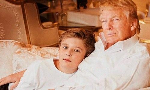 Rich kid có bố là tổng thống Mỹ' từng nhận được những món quà gì?