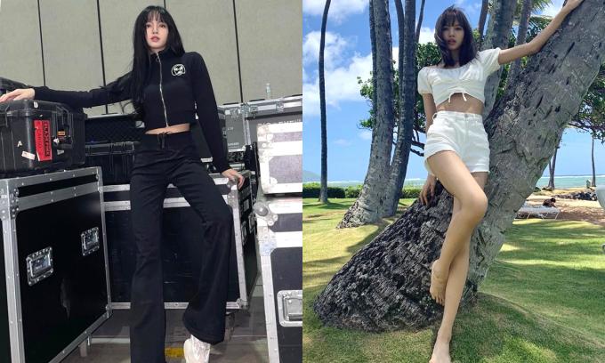 Những dáng pose đỉnh cao khoe chân dài của Lisa