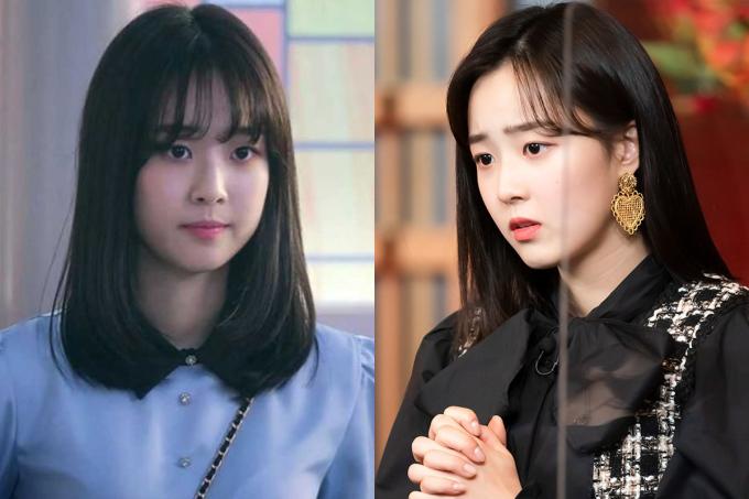 Ha Eun Byeol (Choi Ye Bin) - một trong những nhân vật phụ bị ghét nhất ở phần 1 - được khen xinh hơn hẳn khi thay đổi kiểu tóc. Từ giã kiểu tóc ngang vai mái ngố trông khá nặng nề, Eun Byeol nữ tính hơn khi để tóc dài, rẽ mái 7/3 để lộ vầng trán. Bên cạnh đó, cô cũng thay đổi kiểu trang điểm xinh xắn, nhẹ nhàng hơn.