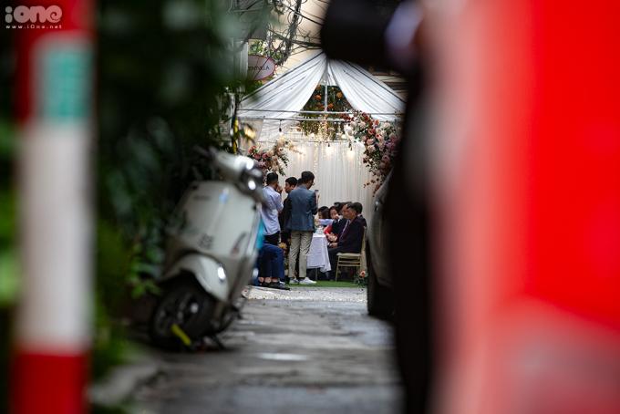 Cập nhật đám hỏi Xuân Trường: Gia đình nhà trai đã tới nhà Nhuệ Giang làm lễ ăn hỏi