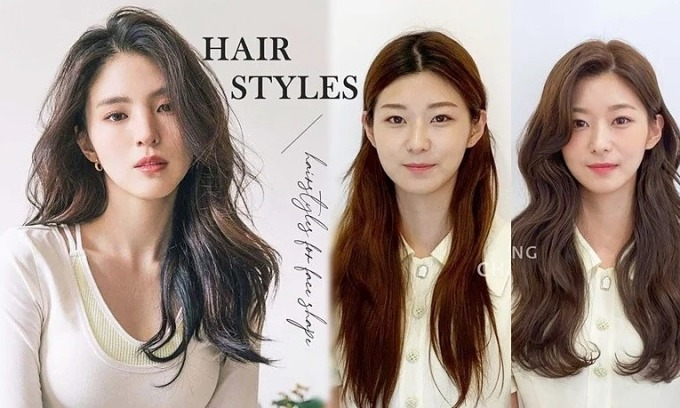 Học sao Hàn cách chọn kiểu tóc giấu nhược điểm khuôn mặt