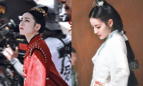 Địch Lệ Nhiệt Ba được khen 'chăm' đổi tạo hình, 3 phim mới 3 hình tượng mới