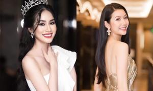 Trả lời lưu loát các câu hỏi ứng xử giả định từ Thúy Vân, Phương Anh được fan kỳ vọng đạt thành tích cao tại Miss International.